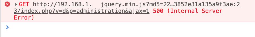 Internal Server Error 500 Utilisation Du Core De Jeedom Communaute Jeedom