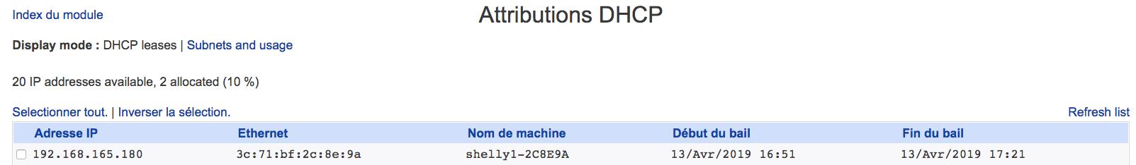 007 DHCP MAC Address