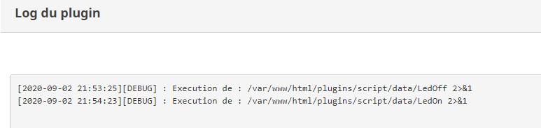 Log Plugin Debug Script